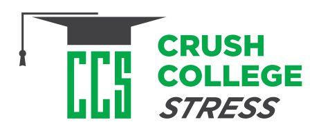 Do you want your child to Crush College Stress?