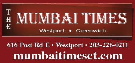 The Mumbai Times, Westport, $5 OFF Spend $35/ $10 OFF Spend $60!