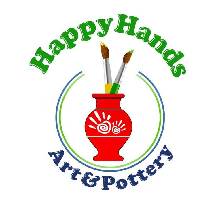 Happy Hands Art & Pottery: Pottery to Go & Virtual Classes/Parties + 10% Offer