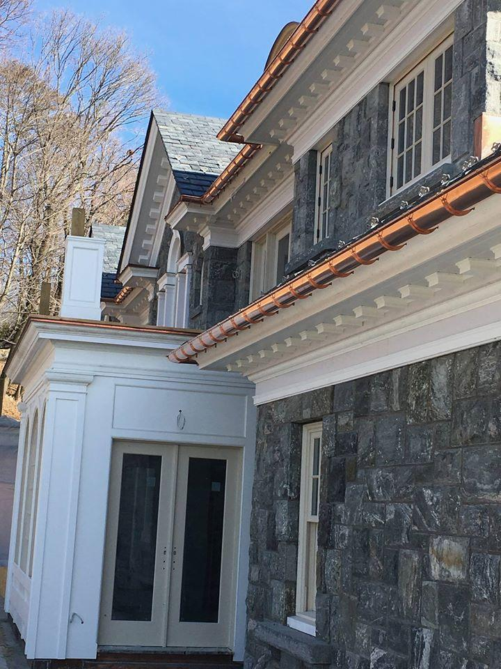 Check out George's Seamless Gutters, New Canaan's gutter company of choice