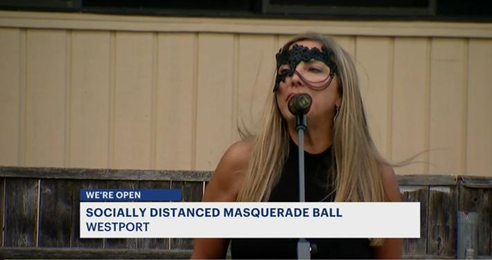 Town Planner & Danise Talbot collaborate on MASQUERADE BALL in Westport