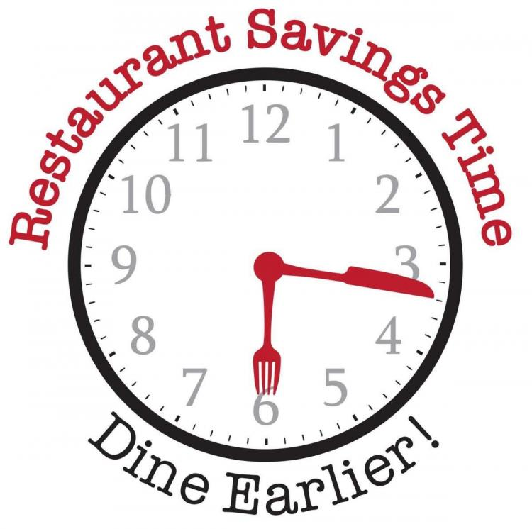 Restaurant Savings Time!