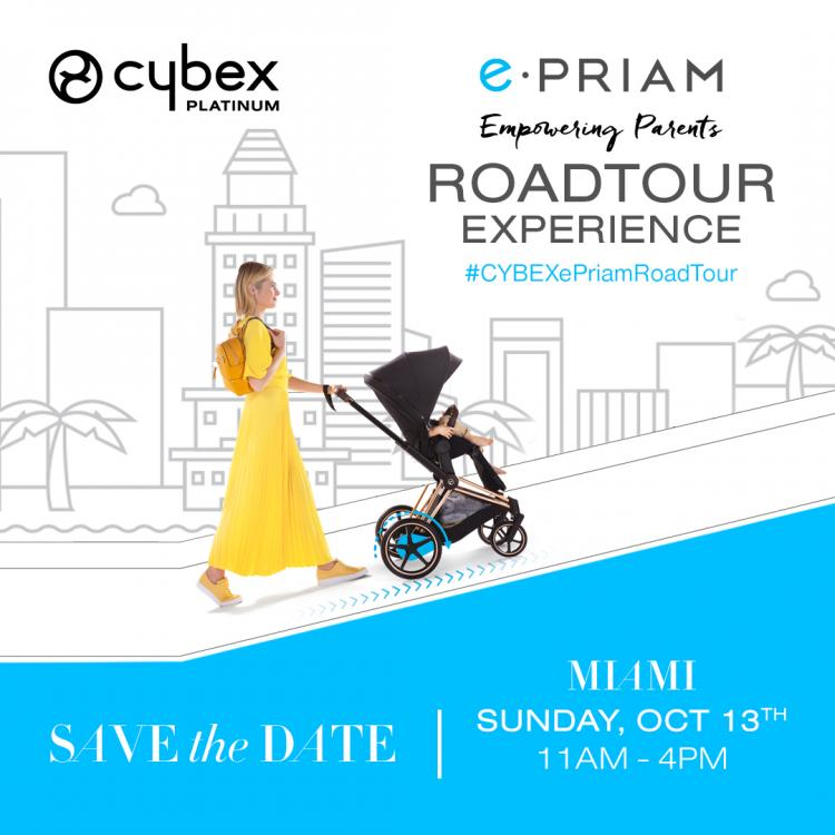 Cybex e-PRIAM Stroller Road Tour