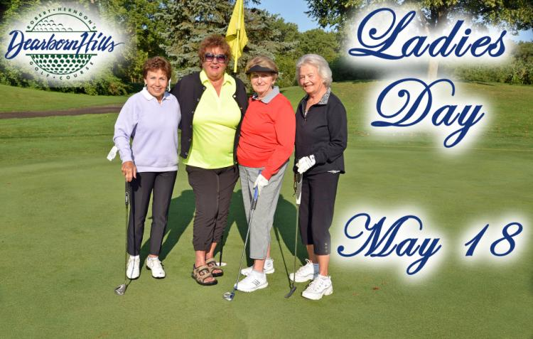 Spring Ladies Day at Dearborn Hills Golf Course