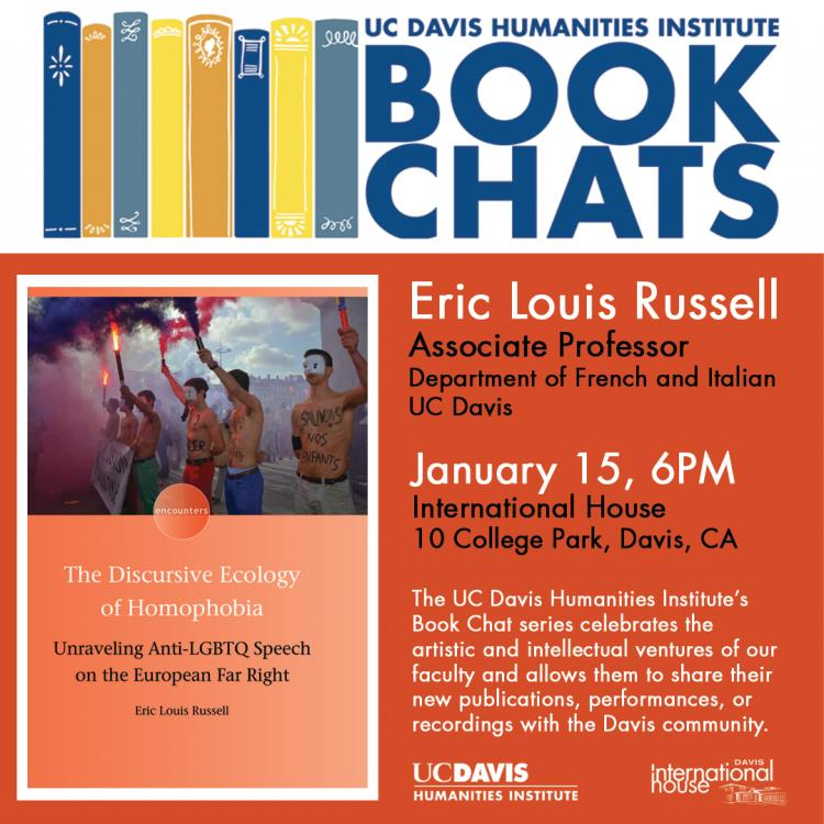 UC Davis Humanities Institute Book Chat at I-House