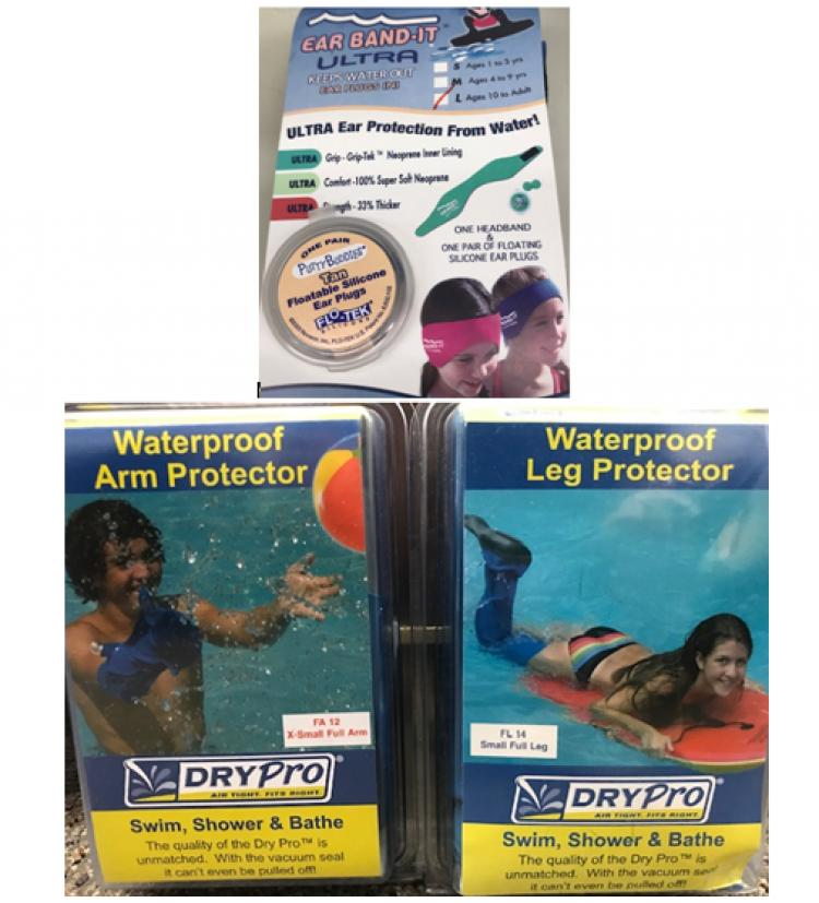 Stay Wet This Summer w/Cast Covers & Ear Bandits from Ocean Lakes  Pharmacy