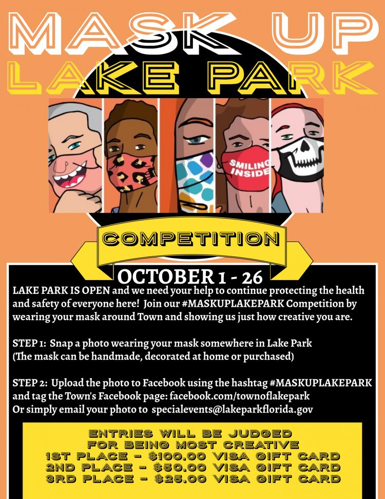 MASK UP LAKE PARK COMMUNITY COMPETITION