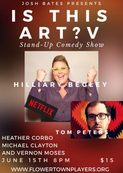 IS THIS ART- A STAND UP COMEDY SHOW