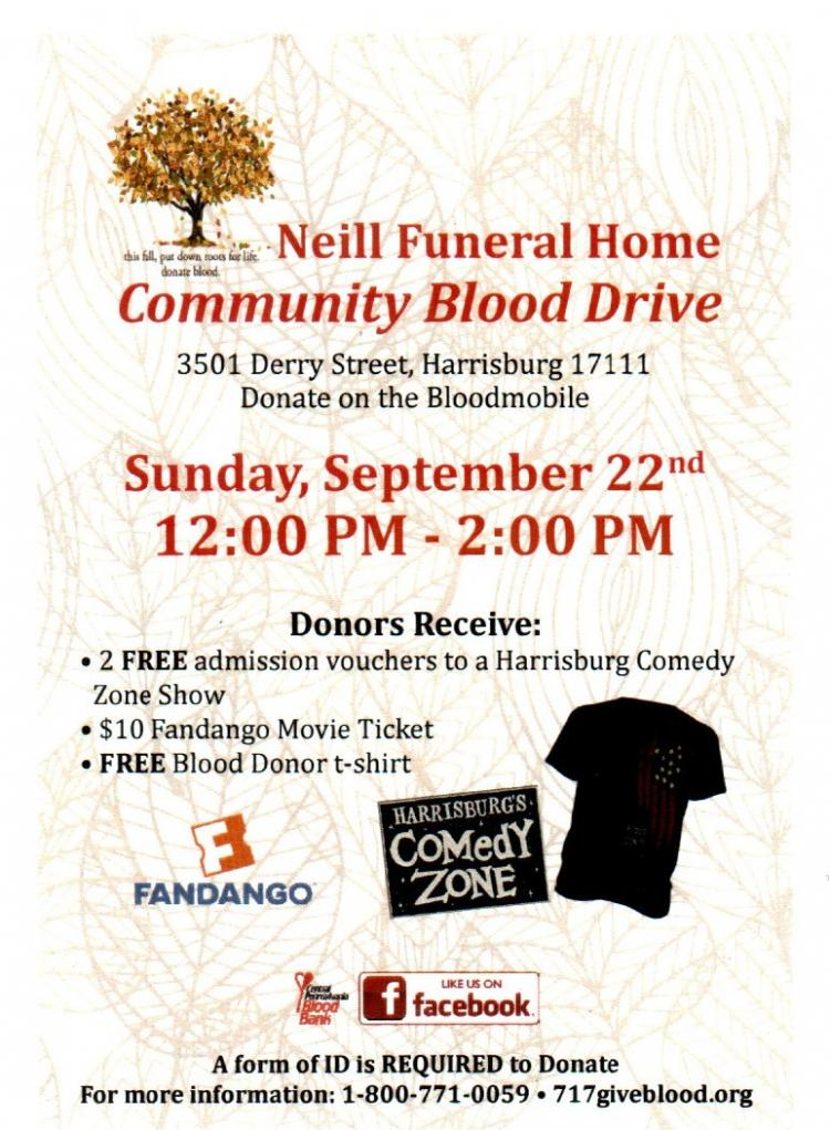 Central PA Blood Bank Blood Drive