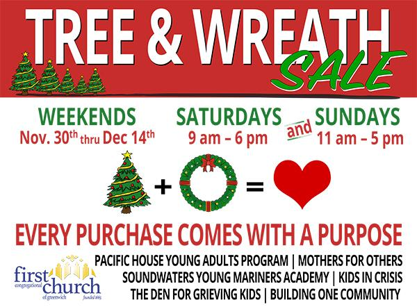 Tree & Wreath Sale For Good Causes