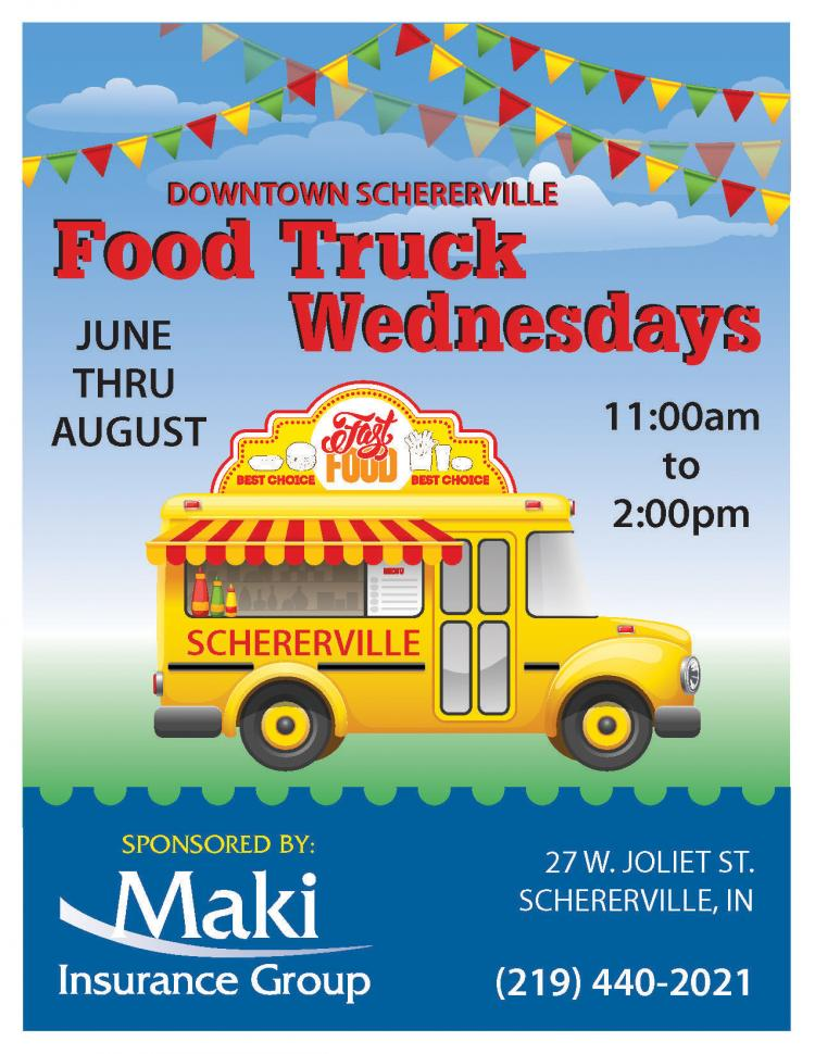 Food Truck Wednesdays in Schererville IN
