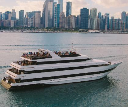 Hornblower Cruises and Events Chicago Hosts Special Lunch and Moonlight Cruises
