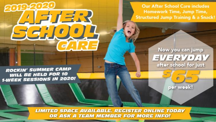 After School Care at Rockin' Jump