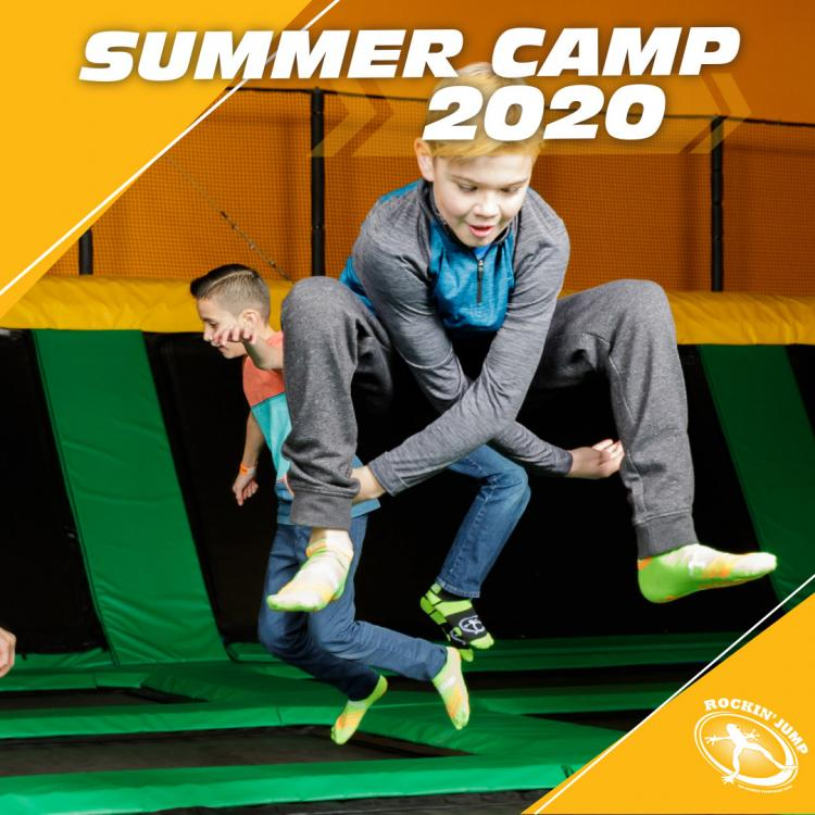 Register Now for Extended Summer Day Camp at Rockin' Jump