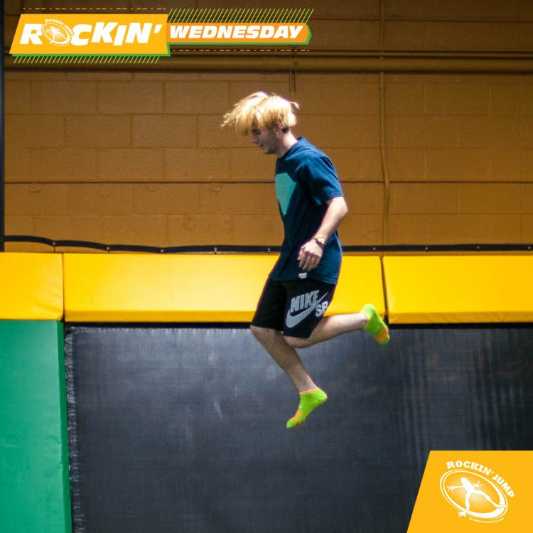 Rockin Wednesday BOGO every Weds. at Rockin' Jump in Myrtle Beach