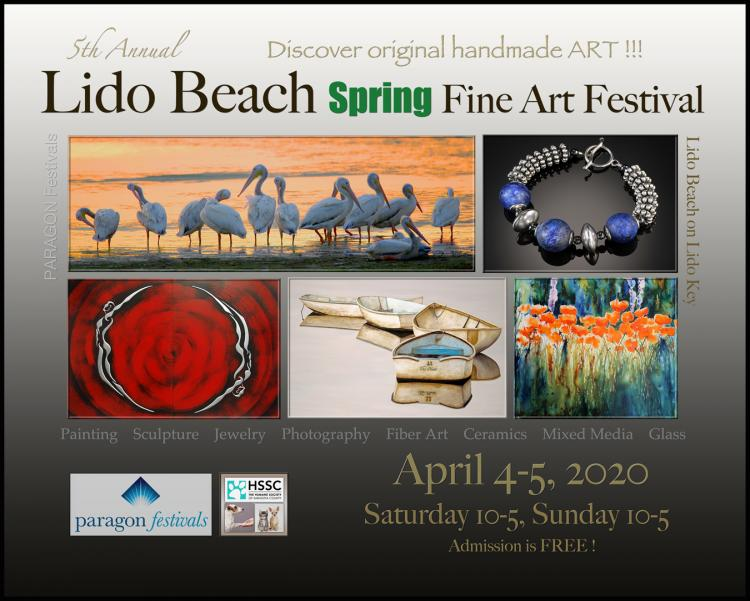 5th Annual Lido Beach Spring Fine Art Festival