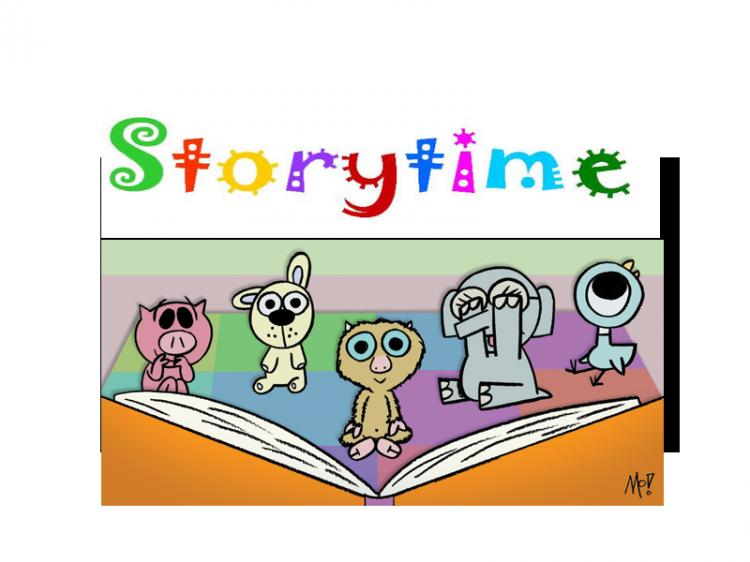 Three-Year-Old Drop-In Storytime