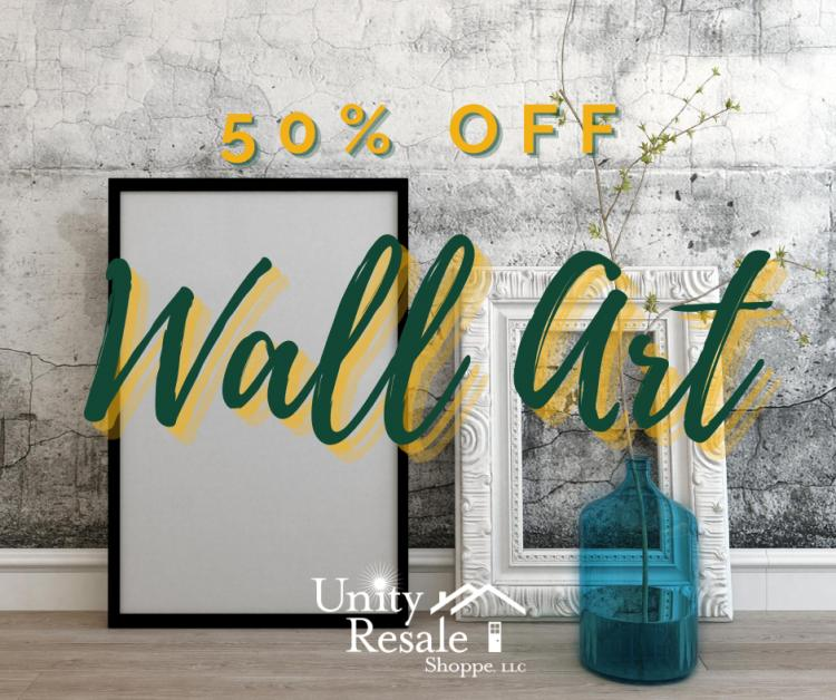 Weekly Sale - 50% OFF Wall Art!