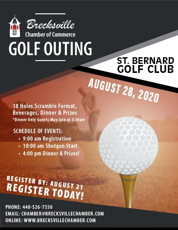 2020 Brecksville Chamber of Commerce Golf Outing
