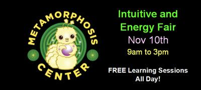 Intuitive and Energy Healing Fair