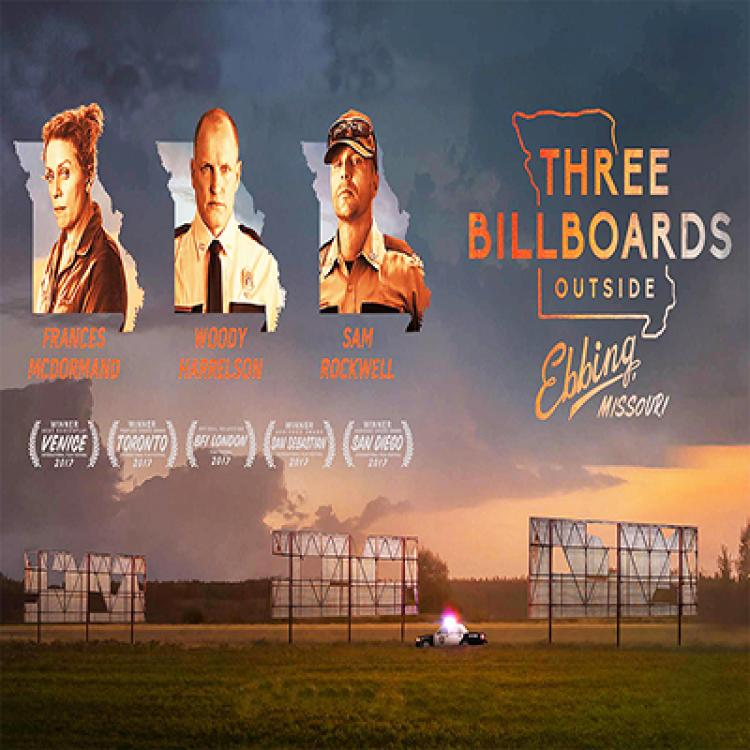 New Movie of the Month: THREE BILLBOARDS OUTSIDE OF EBBING, MISSOURI - 2 Screeni