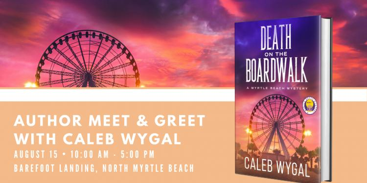 Death on the Boardwalk Book Signing At Barfoot Landing!