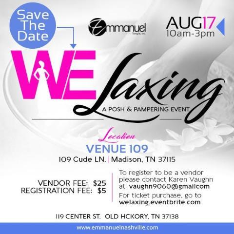 Welaxing A Posh & Pampering Event
