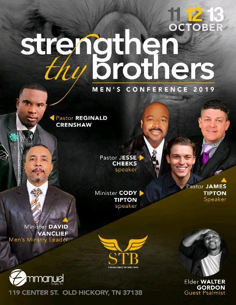 Strengthen Thy Brothers Men's Conference 2019