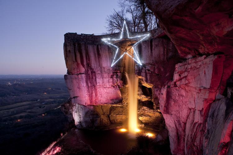 Rock City's 25th annual Enchanted Garden of Lights