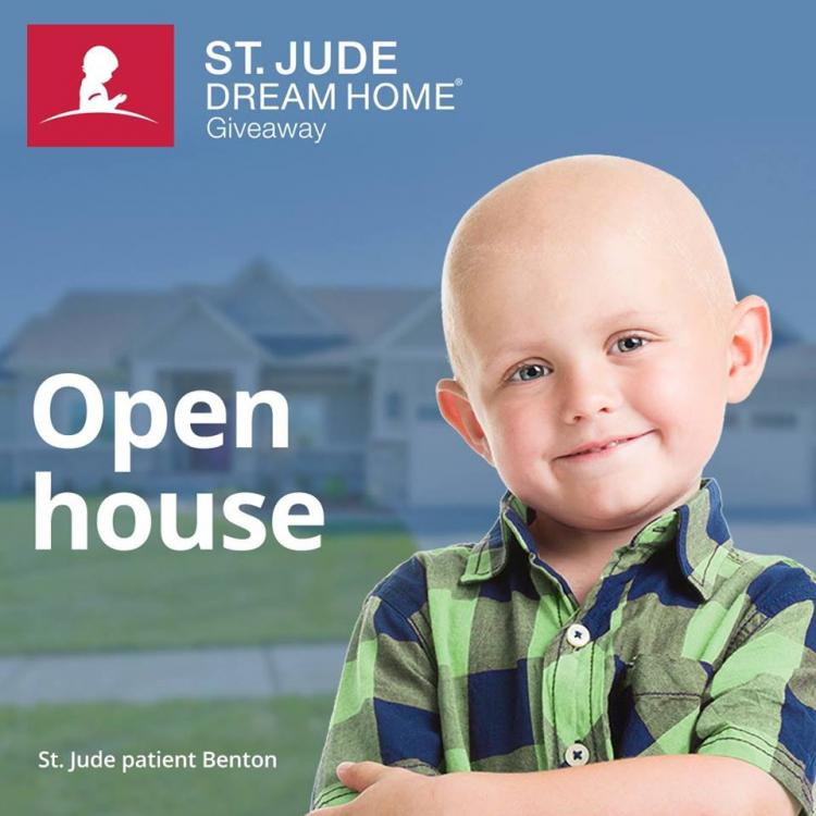 St. Jude Dream Home Giveaway Open House