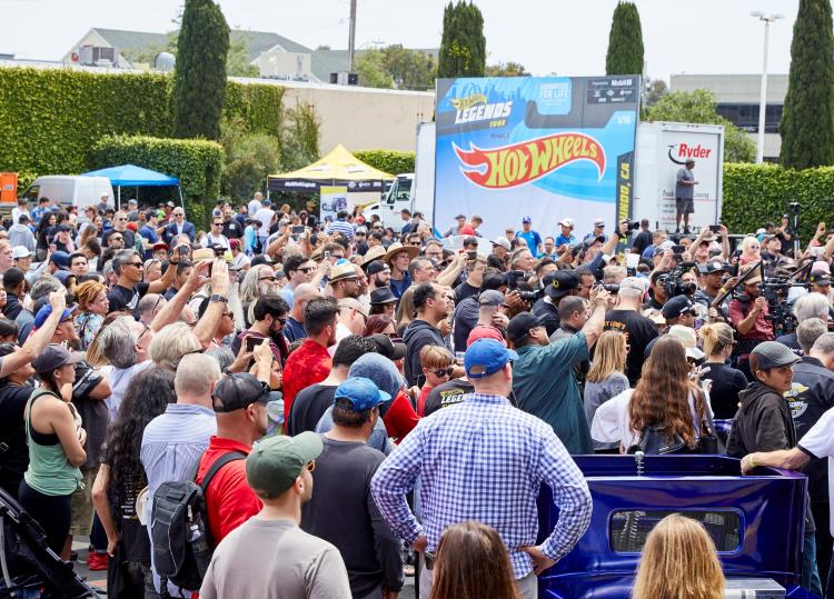 Hot Wheels Legend Tour Celebrations Comes to Gilroy Walmart