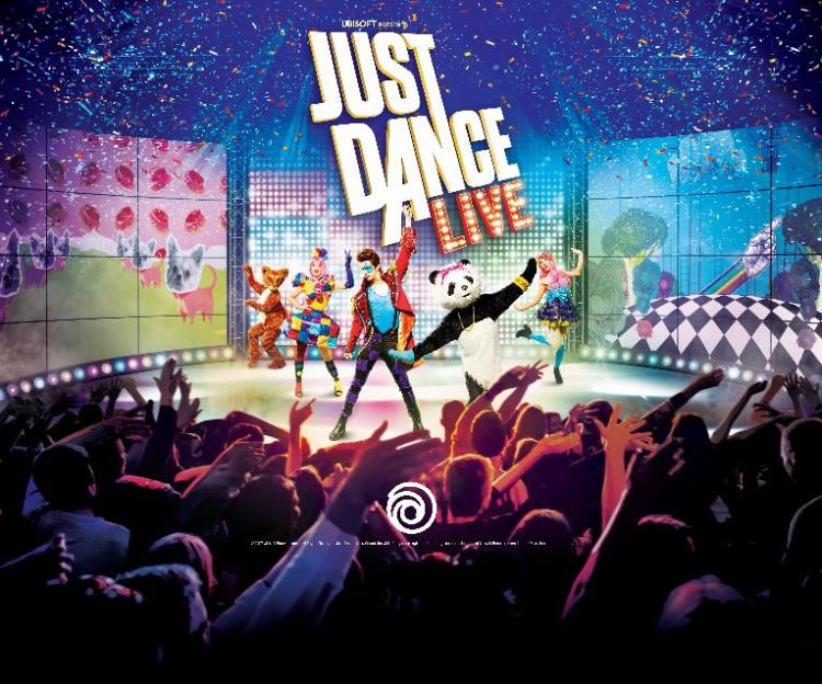UBISOFT BRINGS JUST DANCE TO LIFE IN AN IMMERSIVE, STAGED PRODUCTION