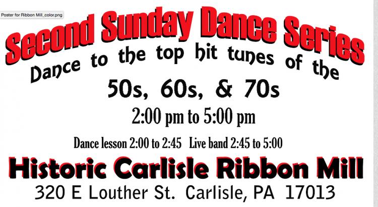 Second Sunday Dance Series Cancelled on Mother's Day.