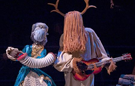 Beauty and the Beast at The Center for Puppetry Arts