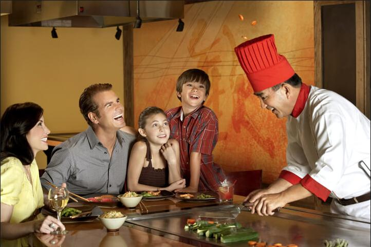 KIDS EAT FREE ON SUNDAY  AT ARASHI JAPAN SUSHI & STEAKHOUSE