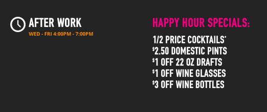 HAPPY HOUR at Dave & Busters