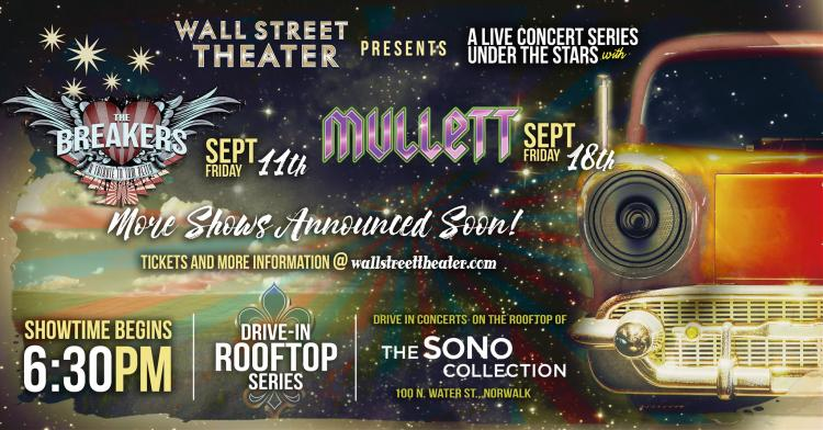 The Wall Street Theater presents Drive-In Rooftop Series