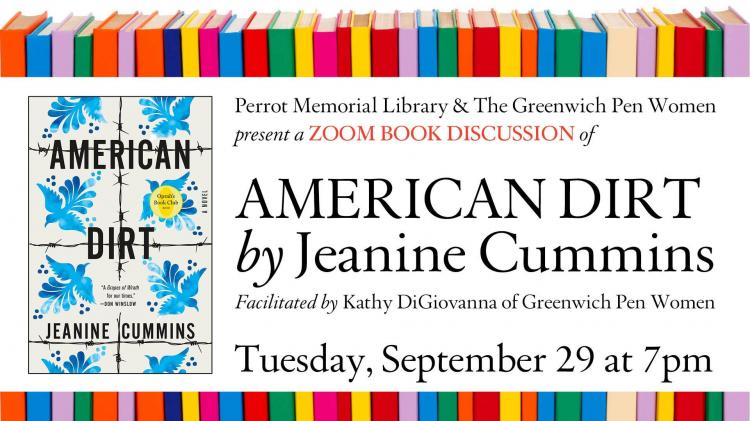 Zoom Book Discussion on American Dirt, by Jeanine Cummins
