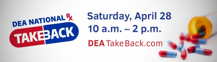 DEA TAKE BACK EVENT