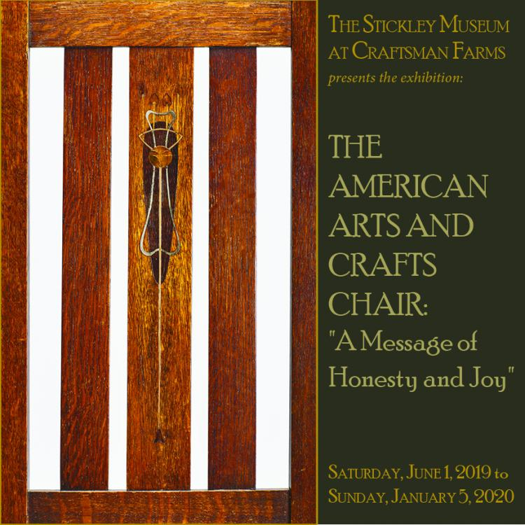 "The American Arts and Crafts Chair:  ""A Message of Honesty and Joy"""