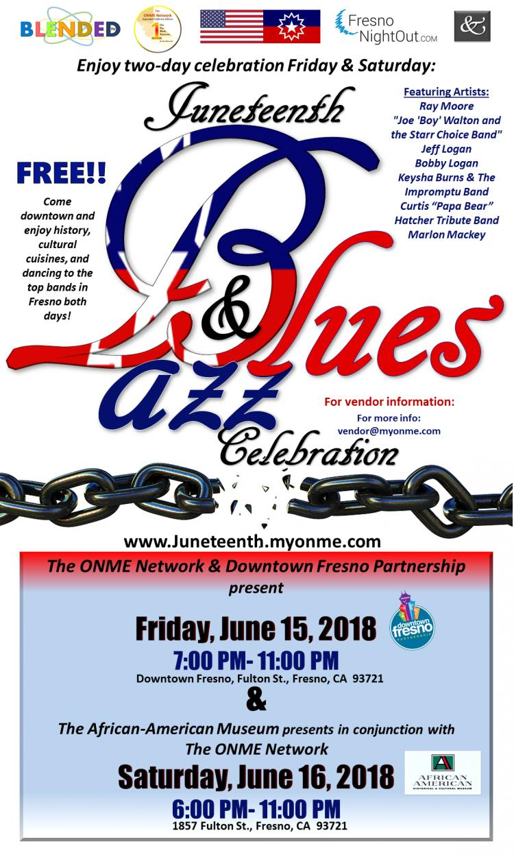 2-Day FREE Juneteenth Jazz & Blues Celebration