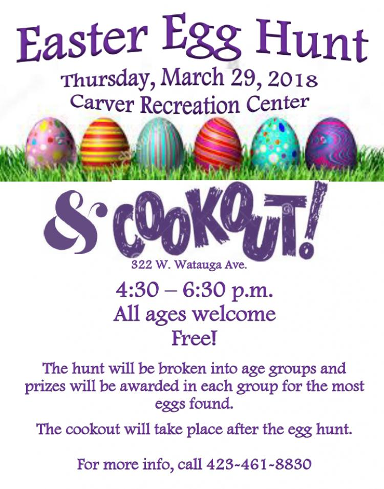 Easter Egg Hunt and Cookout