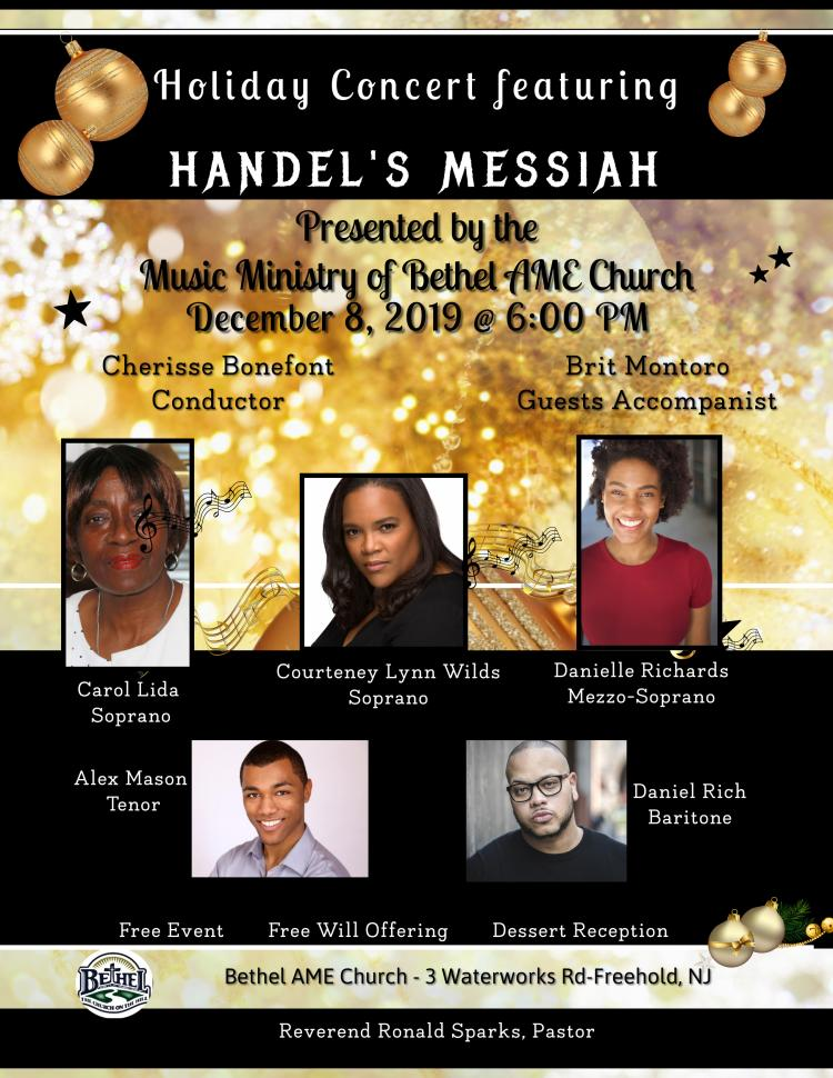 Bethel AME Freehold Annual Holiday Concert