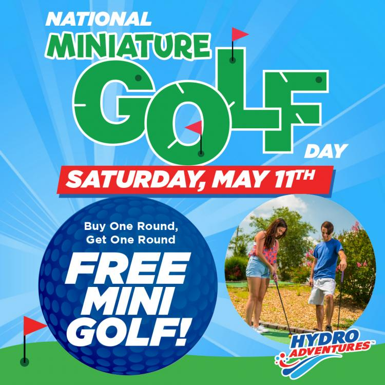 National Mini Golf Day at Hydro Adventures!