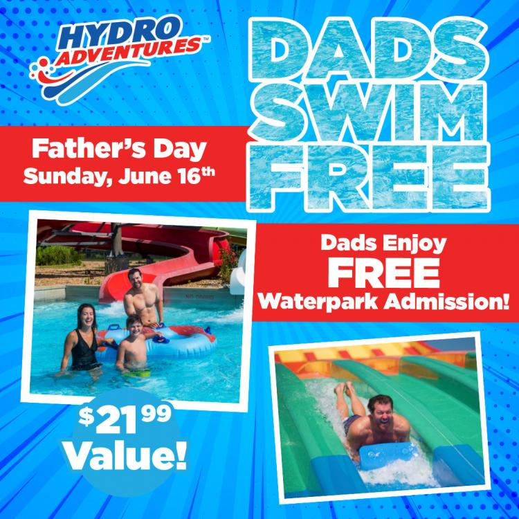 Father's Day at Hydro Adventures!