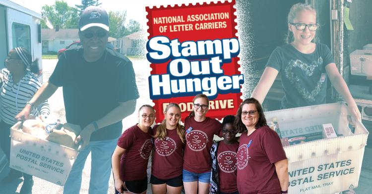NALC's Stamp Out Hunger Food Drive