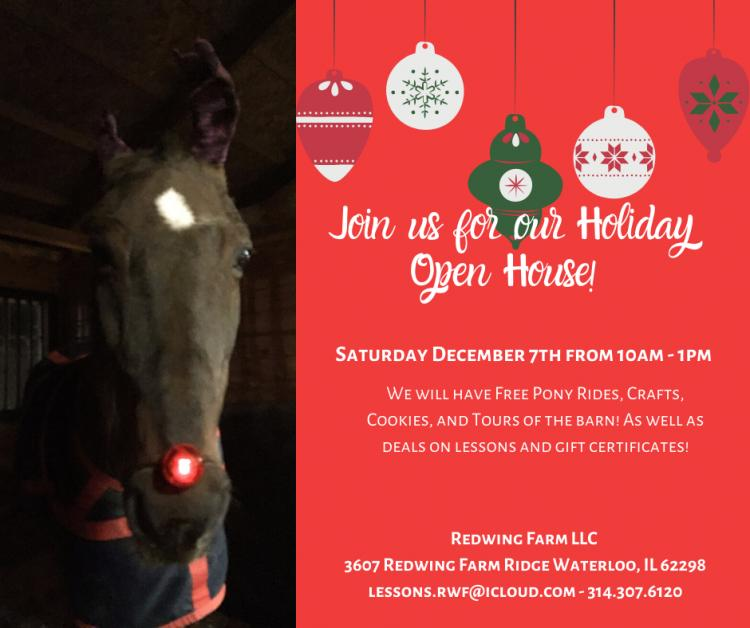 Redwing Farm's Holiday Open House