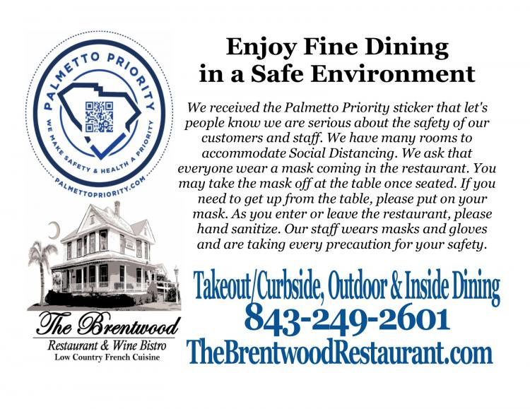 Brentwood Takeout, Outdoor & Indoor Dining