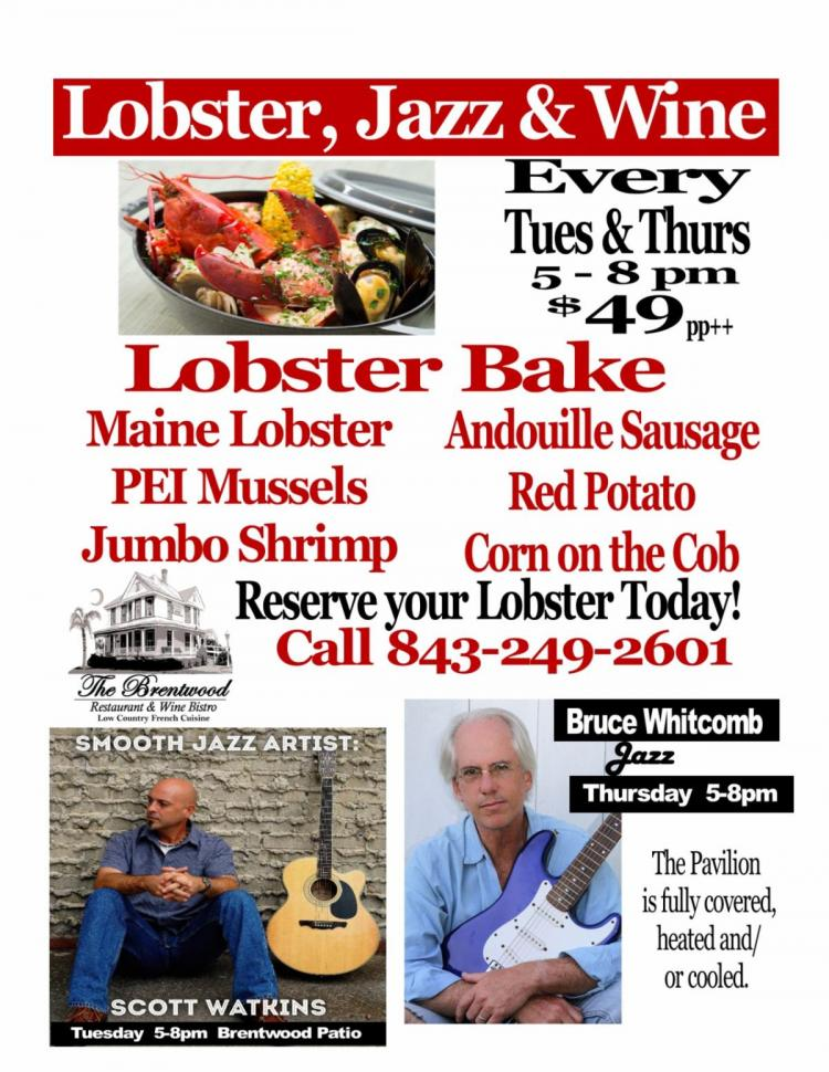 Lobster & Jazz at The Brentwood