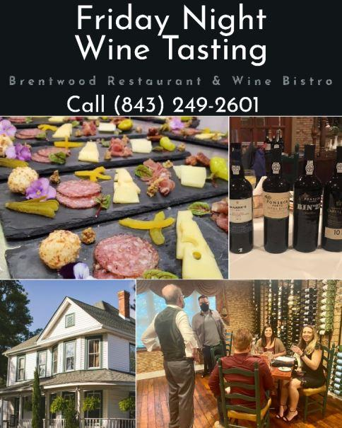 Friday Night Wine Tasting at The Brentwood Wine Bistro